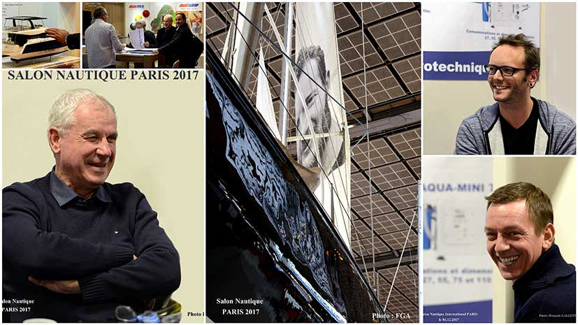 Retour du salon nautique de paris 2017 squalt marine - Salon nautique international de paris ...